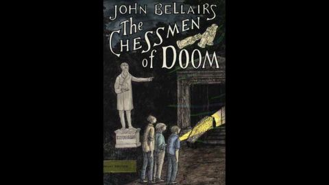 """American author John Bellairs was best known for his Gothic mystery novels featuring young protagonists Lewis Barnavelt, Anthony Monday and Johnny Dixon. Many of them, including """"The Chessman of Doom,"""" were accompanied by creepy cover art and  illustrations by artist Edward Gorey."""