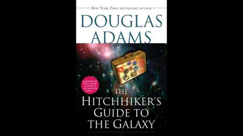 """""""The Hitchhiker's Guide to the Galaxy"""" is the fictional travel guide at the heart of Douglas Adams' comic science fiction series. Originally a radio series that aired on BBC Radio 4 in 1978, it became an international phenomenon that was adapted into several mediums, including novels beloved by readers young and old."""