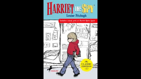 """Louise Fitzhugh's """"Harriet the Spy"""" follows the adventures of an 11-year-old aspiring spy who documents the activities of friends and neighbors in New York City -- and runs into some trouble (and a few delish tomato sandwiches) along the way."""