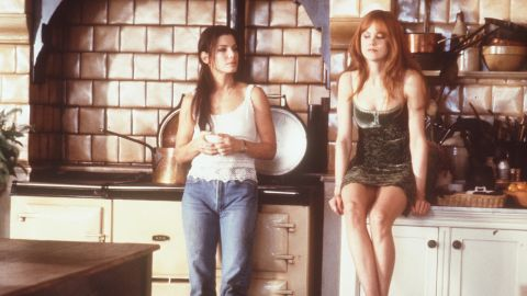 """Also in 1998, Bullock and Nicole Kidman starred as witches in the film """"Practical Magic."""""""