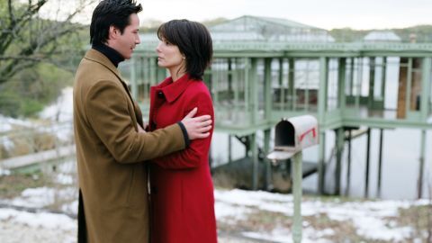 """Former """"Speed"""" co-stars Keanu Reeves and Bullock reunited in 2006 for the romantic drama """"The Lake House."""""""