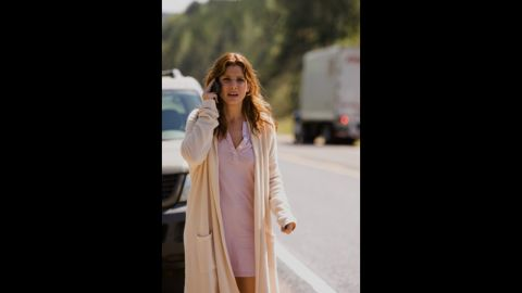 """The actress stars as Linda in the psychological thriller """"Premonition."""""""