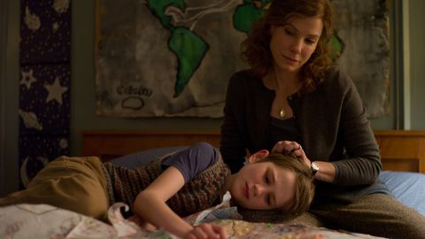 """Bullock stars as Linda Schell and Thomas Horn as Oskar Schell in the 2011 drama """"Extremely Loud & Incredibly Close."""""""