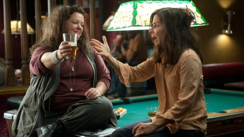 """Melissa McCarthy and Bullock bring the funny as law enforcement partners in 2013's """"The Heat."""""""