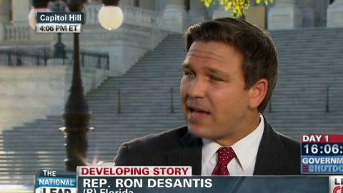exp Lead intv Rep Ron DeSantis Obamacare government shutdown_00025603.jpg