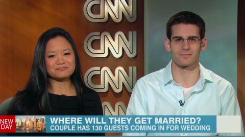government shutdown couple has to cancel wedding Newday _00014317.jpg
