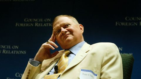 """American author <a href=""""http://www.cnn.com/2013/10/02/us/tom-clancy-obit/index.html"""" target=""""_blank"""">Tom Clancy</a> died October 2, according to a family member. He was 66."""
