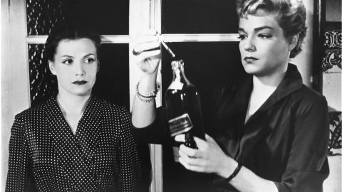 """The 1955 French film<strong> </strong>""""Diabolique""""<strong> </strong>remains a model for the psychological thriller. A wife and a mistress decide to murder their shared lover, a brutal schoolmaster. But when his body disappears, who's really controlling the plot? Turns out the real target was the wife. But the movie lets the audience wonder if she, too, is really dead."""