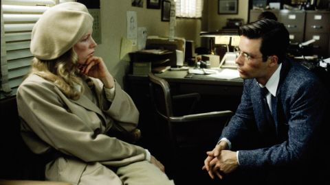 """The modern film noir<strong> </strong>""""L.A. Confidential"""" (1997) finds good cop Ed Exley (Guy Pearce) trying to battle corruption at the LAPD in the midst of a case involving celebrity lookalike call girls such as Lynn Bracken (Kim Basinger). The corruption, it turns out, goes right up to the chief, played by James Cromwell, who kills a detective (Kevin Spacey) in a shocking scene midway through. Russell Crowe also stars."""
