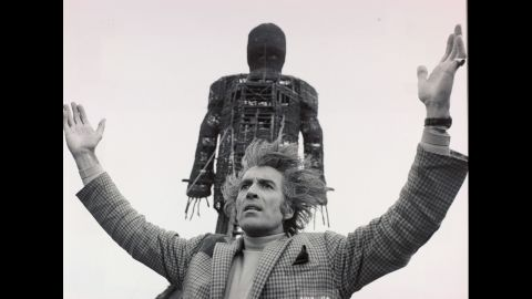"""When the chaste detective played by Edward Woodward travels to a small island to investigate a missing child in 1973's """"The Wicker Man,"""" little does he realize he's about to become the sacrifice he thought he was looking into. Christopher Lee, who plays the island's leader, has said he believes """"The Wicker Man"""" is """"the best-scripted film I ever took part in."""" In the UK, it was seen on a double bill with """"Don't Look Now."""""""