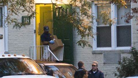 During a search of Carey's apartment in Stamford, Connecticut, police found a laptop computer, a flash drive and three non-working cell phones.