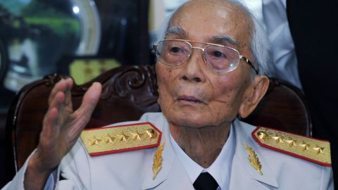 """<a href=""""http://www.cnn.com/2013/10/04/world/asia/vietnam-general-death/index.html"""">Gen. Vo Nguyen Giap</a> of the Vietnam People's Army, a man credited with major victories against the French and the American military, died on October 4. He was 102."""