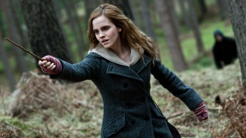 """Emma Watson's Hermione Granger in the """"Harry Potter"""" movies always knew just the right spell to get out of any situation."""