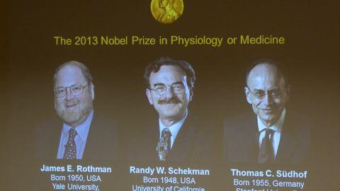 Winners of the 2013 Medicine Nobel Prize