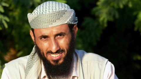 """<a href=""""http://outfront.blogs.cnn.com/2013/08/09/the-new-face-of-terror-who-is-nasser-al-wuhayshi/"""">Nasir al Wuhayshi</a> is leader of al Qaeda in the Arabian Peninsula, known as AQAP."""