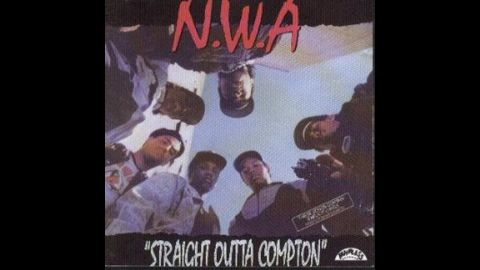 """NWA's 1988 debut studio album """"Straight Outta Compton"""" included the tune """"<a href=""""http://www.youtube.com/watch?v=Z7-TTWgiYL4"""" target=""""_blank"""" target=""""_blank"""">F*** Da Police""""</a> which as you can imagine did not go over well with the law enforcement community."""