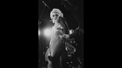 """Blondie's 1981 hit <a href=""""http://www.youtube.com/watch?v=pHCdS7O248g"""" target=""""_blank"""" target=""""_blank"""">""""Rapture""""</a> has a line that <a href=""""http://www.songfacts.com/detail.php?id=2608"""" target=""""_blank"""" target=""""_blank"""">sounds pretty risque.</a> We will leave you to Google that."""
