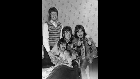 """The Beatles' 1968 hit <a href=""""http://www.youtube.com/watch?v=AqC_Gma221M"""" target=""""_blank"""" target=""""_blank"""">""""Revolution""""</a> angered some in its urging of peace and love when so many <a href=""""http://www.independent.co.uk/arts-entertainment/music/features/jagger-vs-lennon-londons-riots-of-1968-provided-the-backdrop-to-a-rocknroll-battle-royale-792450.html"""" target=""""_blank"""" target=""""_blank"""">were protesting the war in Vietnam</a> and calling for rebellion against the establishment."""