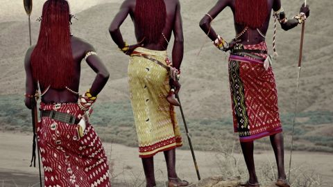 Nelson visited the African tribes during five trips to the continent. He says that the Kenyan Samburu are more traditional than the Maasai and more independent and egalitarian.