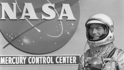 """Astronaut <a href=""""http://life.time.com/history/scott-carpenter-rare-and-classic-photos-of-a-nasa-legend/#1"""" target=""""_blank"""" target=""""_blank"""">Scott Carpenter</a>, the second American to orbit Earth, died on October 10, NASA said. He was 88."""