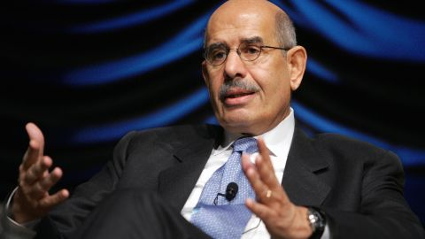 Mohamed ElBaradei and the International Atomic Energy Agency won the Nobel Peace Prize in 2005.