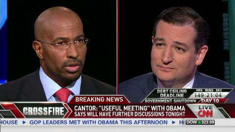 sot crossfire jones ted cruz obamacare shutdown_00004301.jpg