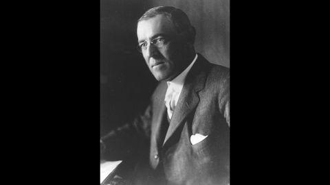 President Woodrow Wilson won the Nobel Peace Prize in 1919.