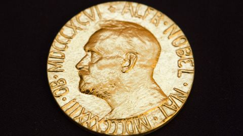 """The late Swedish industrialist Alfred Nobel left the bulk of his fortune to create the <a href=""""http://www.nobelprize.org/"""" target=""""_blank"""" target=""""_blank"""">Nobel Prizes</a> to honor work in five areas, including peace. In his 1895 will, he said one part was dedicated to that person """"who shall have done the most or the best work for fraternity between nations, for the abolition or reduction of standing armies and for the holding and promotion of peace congresses."""" See the winners of the Nobel Peace Prize since it was first awarded in 1901."""