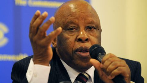 Festus Mogae was President of Botswana from 1998 to 2008. He was awarded the second Ibrahim Prize in 2008 for maintaining and consolidating Botswana's stability and prosperity in the face of an HIV/AIDS pandemic.