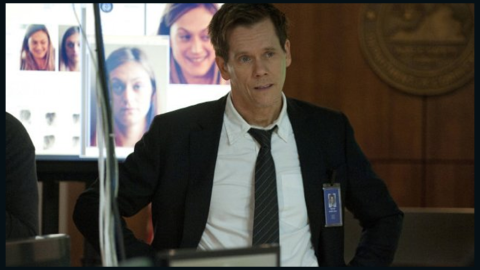 """There was a time when you could see Kevin Bacon on your TV screen only if one of the cable channels was airing """"Footloose."""" But in 2013, Bacon followed in the footsteps of his wife, Kyra Sedgwick, and made TV appearances a weekly thing with Fox's """"The Following."""""""