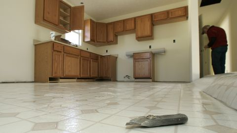 """<strong>Vinyl flooring: </strong>The <a href=""""http://thechart.blogs.cnn.com/2010/10/19/flooring-wallpaper-tests-uncover-potential-toxics/"""">floors and walls</a> of your home may also contain phthalates. A 2010 test of four """"representative"""" vinyl flooring samples found four of the six phthalates severely restricted in children's products, with levels as high as 84,000 parts per million -- 84 times what's allowed in toys."""