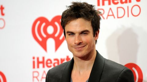 """The devilish look of Ian Somerhalder has served him well on the TV series """"The Vampire Diaries."""" He could bring that to the role."""