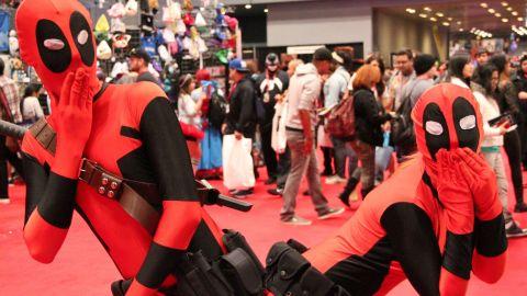 Deadpool Duo at New York's Comic Con