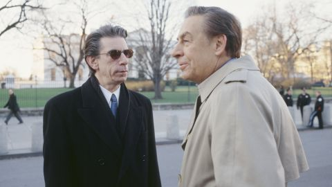 """Here Munch, left, appears on an episode of the original """"Law & Order"""" series in 1999 opposite Detective Lennie Briscoe (played by the late Jerry Orbach)."""