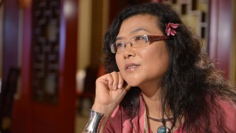 Author and social commentator Lijia Zhang