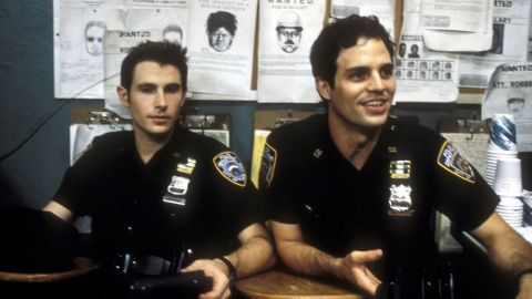 """Munch also appeared on the short-lived TV show """"The Beat"""" in 2000, which featured actors Derek Cecil, left, and Mark Ruffalo. The episode was called """"They Say It's Your Birthday."""""""
