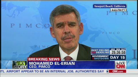 exp pmt mohamed el erian government shutdown economy_00002001.jpg
