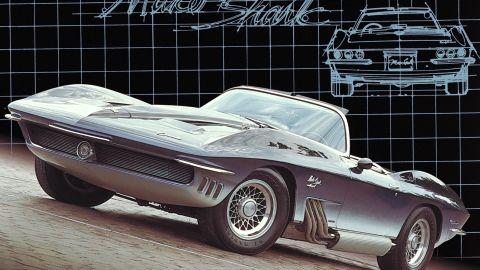 The Mako Shark Covette concept car.