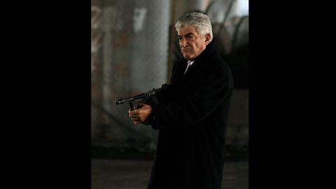 """No one -- but no one -- plays a bad guy like Frank Vincent.  He found fame when his character, Billy Batts, was killed in """"Goodfellas."""""""