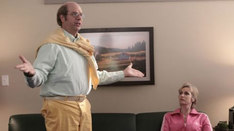 """Stephen Tobolowsky was only briefly on """"Glee"""" as the pot-loving teacher Sandy, but he's been around the industry for years."""