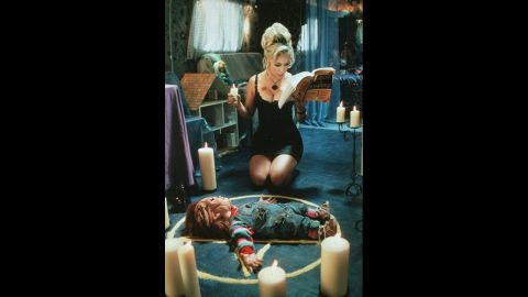 """Jennifer Tilly has appeared in several movies, including """"Bride of Chucky."""""""