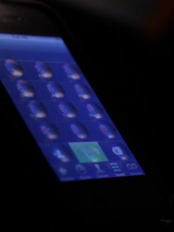 """<a href=""""http://www.tactustechnology.com/"""" target=""""_blank"""" target=""""_blank"""">Tactus Technology</a> has invented a dial pad that will only appear when the surface of a touchscreen is being touched. These buttons on demand might make you think of bubble wrap, but will provide the sensation of real buttons."""