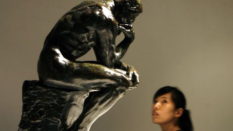 """There are 28 castings of Auguste Rodin's famous """"The Thinker,"""" a bronze figure originally named """"The Poet."""""""