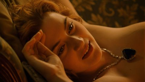 """Kate Winslet has famously had her nude portrait drawn in the film """"Titanic"""" and stripped for other roles, though she admits it can get a bit weird stripping down on set. """"I just go in and say 'Oh, f**k, let's do it.' and boom,"""" <a href=""""http://www.celebuzz.com/2011-09-08/kate-winslet-on-getting-naked-for-movies-i-hate-it/"""" target=""""_blank"""" target=""""_blank"""">she said in an interview</a>. """"If you complain about it or procrastinate, it's not going to go away. It's a profoundly bizarre thing to do. As actors, you talk about it all the time."""""""