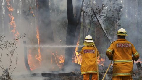 Authorities are preparing for conditions to worsen amid forecasts of hotter weather and stronger winds.