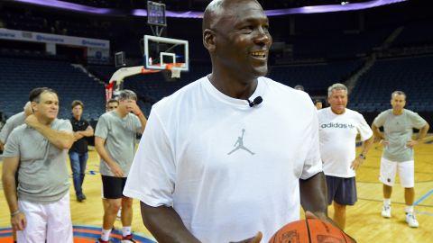 Former NBA star Michael Jordan.