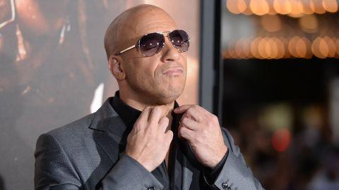 Actor Vin Diesel.