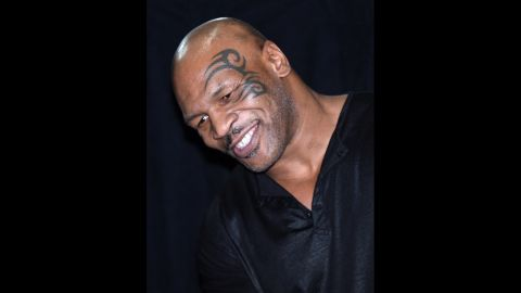 Former boxer Mike Tyson.