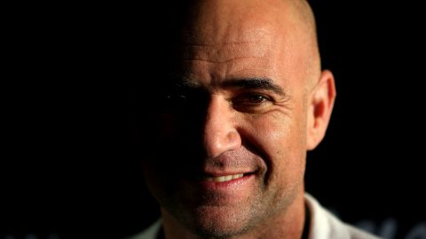Former tennis player Andre Agassi.