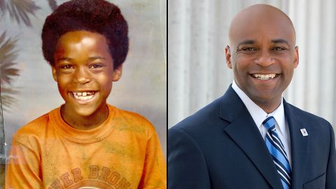 """At one point, Denver Mayor Michael Hancock said, he wanted to be a cop. Then, a football player. But politics was always there. """"I was in student government from sixth through 12th grade,"""" he said. """"I grew up in a family of 10 and you must learn how to be a mayor or a governor in that family of 10. You learn very early on to be a politician in a big family like mine."""""""